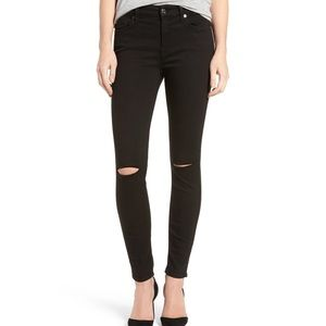 7 for all mankind Bair ankle skinny jeans 0718